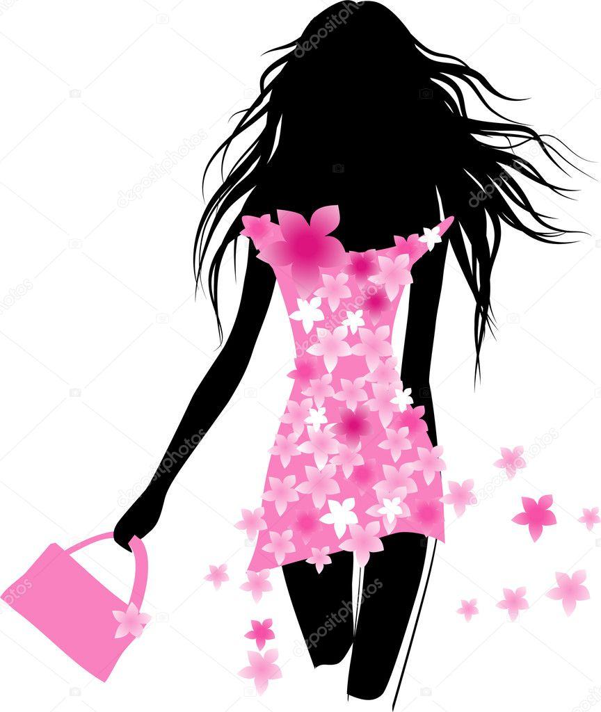 Fashion Girl  Stock Vector  Gizele 7023202-1258
