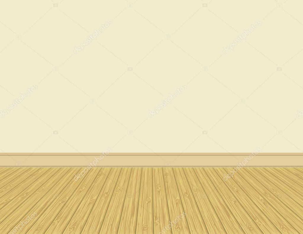 empty room with hardwood floor u2014 vector by wingedcats