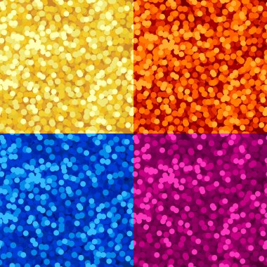 Lights seamless pattern
