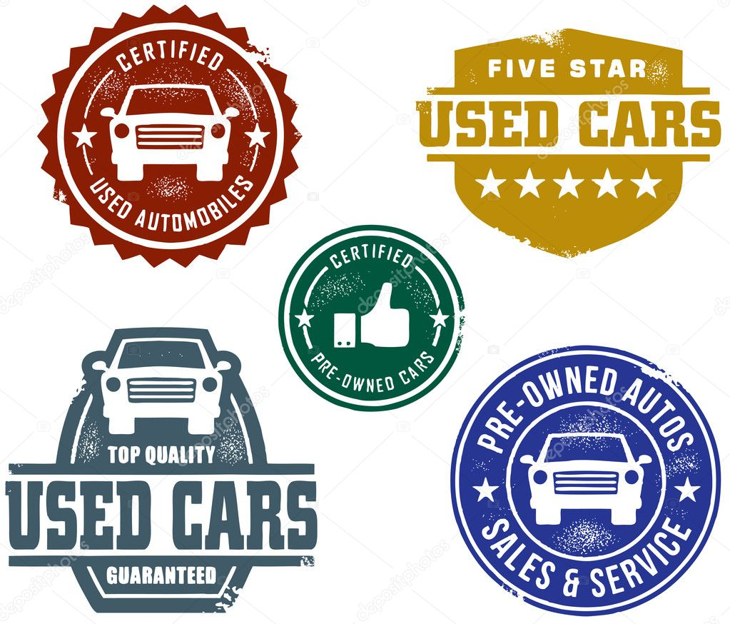 Used Car Stamps