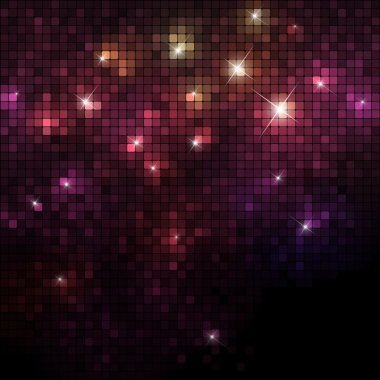 Shiny Mosaic banner with space for Your text, vector eps10 format clip art vector