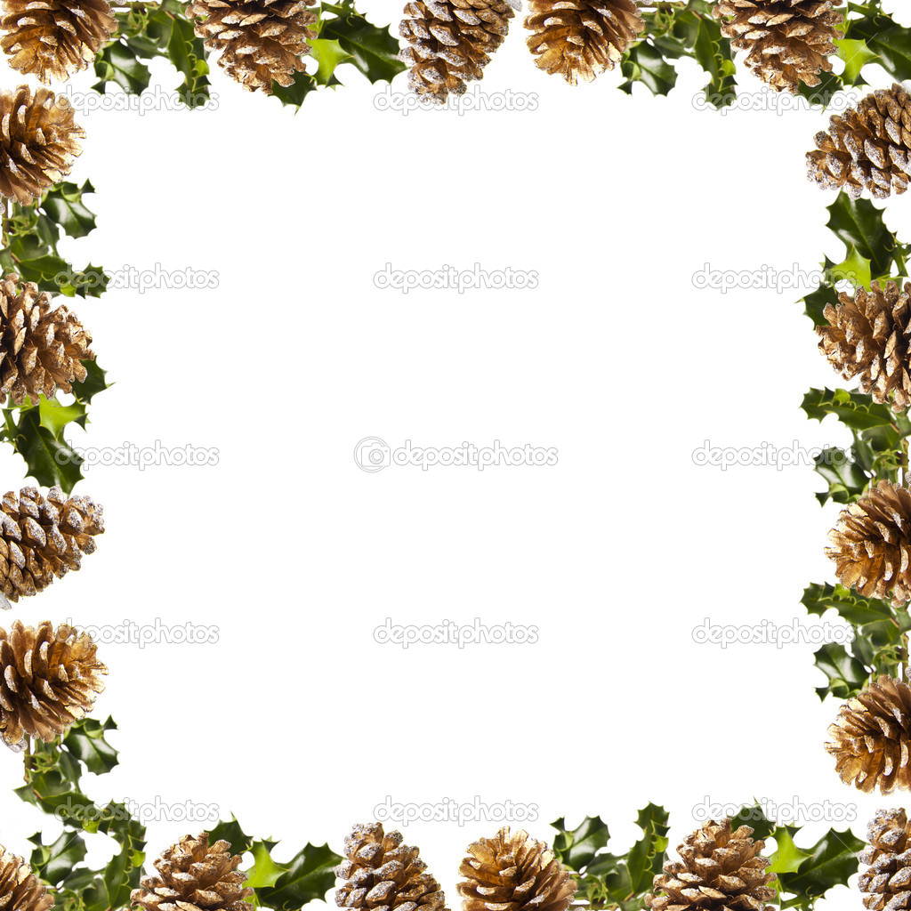 Christmas decorations, backgrounds, frames and cards — Stock Photo ...