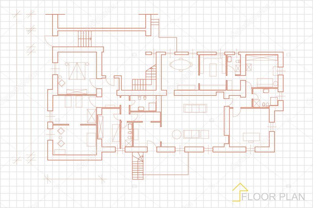 Vector casa plan blueprint archivo imgenes vectoriales vector casa plan blueprint archivo imgenes vectoriales malvernweather Image collections