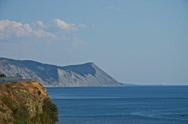 Rock in black sea