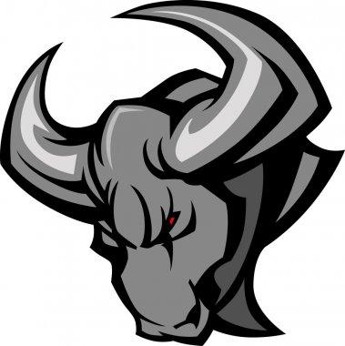 Mascot Bull Vector Illustration