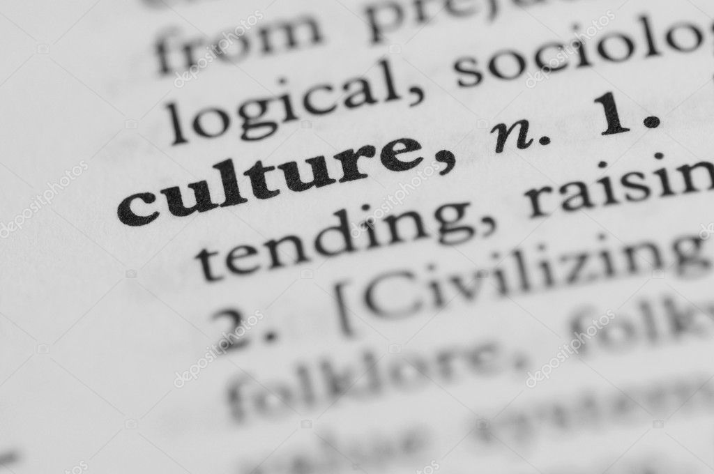 Dictionary Series - Culture