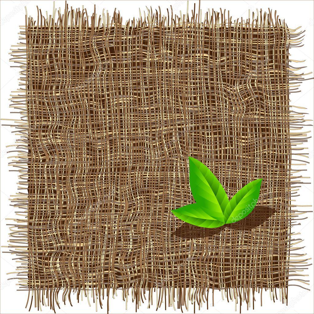 Organic weave pattern
