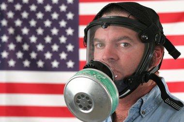 American Gas Mask Horizontal