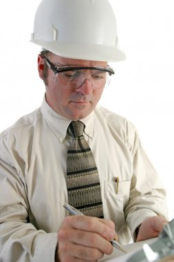 Safety Engineer Closeup