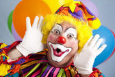 Fotografie Clown Makes Funny Face