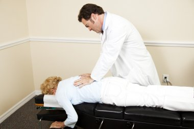 Chiropractor with Copyspace