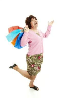 Cross Dresser Loves Shopping