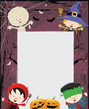 Halloween Kids Message