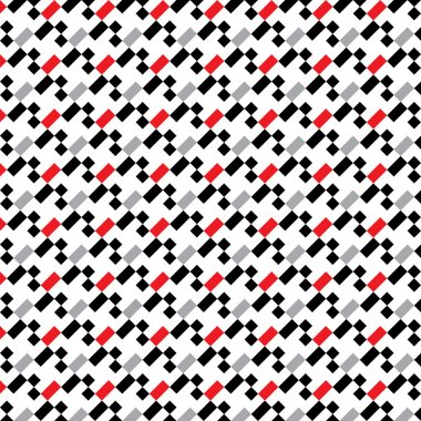 Seamless pixel pattern