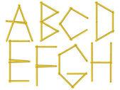abeceda písmen