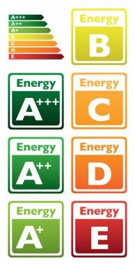 Energy class tag