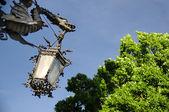 stará historická lampa