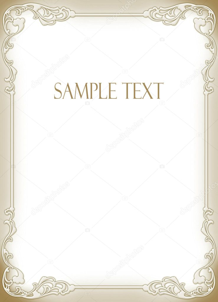 Wedding invitation frame Stock Photo art321 7105843