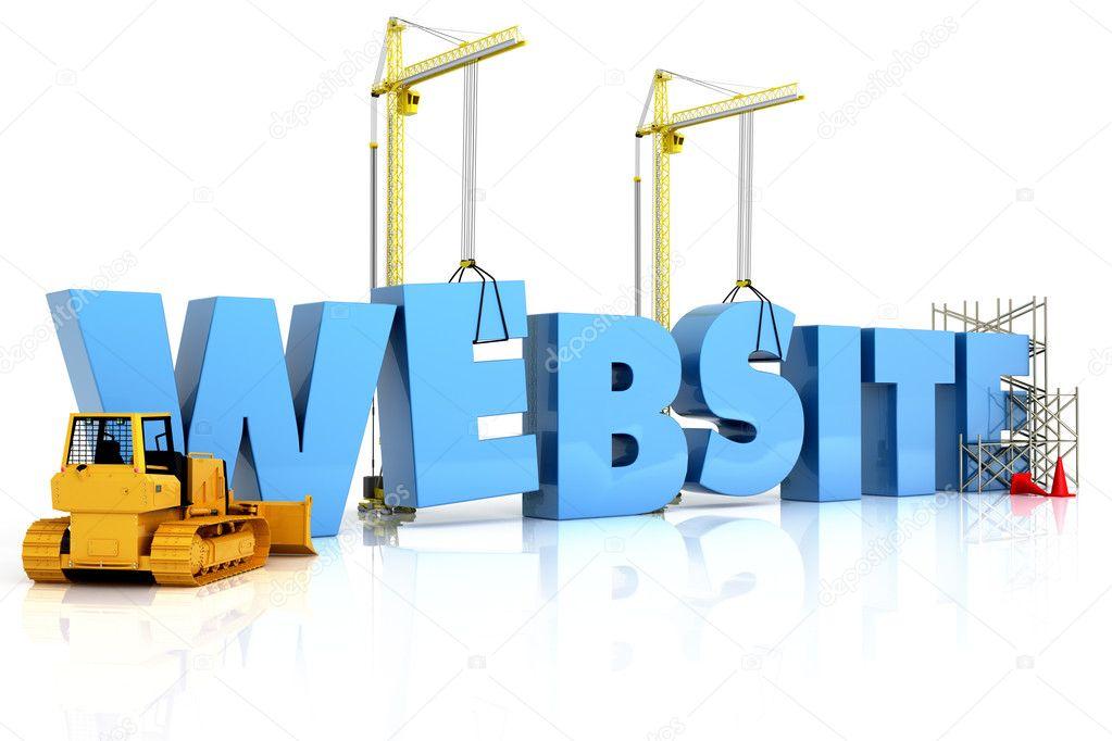 Website building , under construction or repair