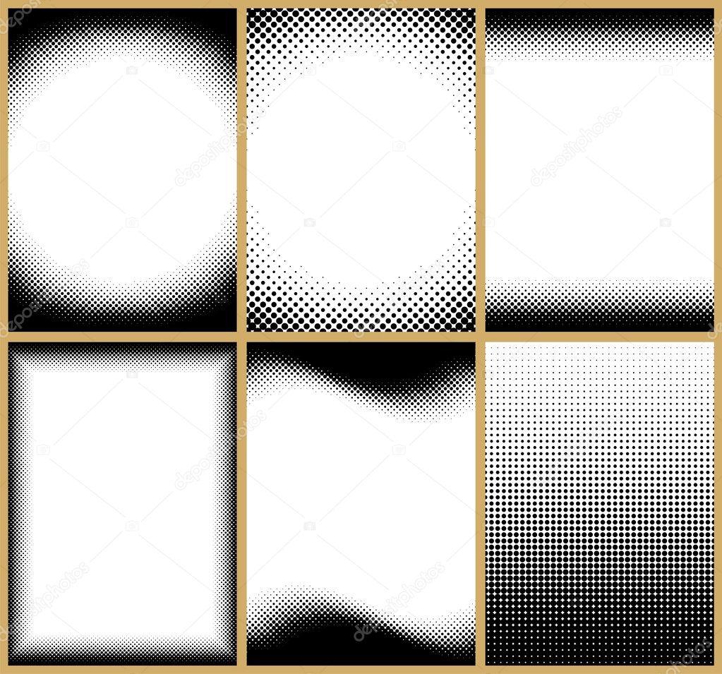 tramas semitonos — Vector de stock © Malchev #6761463