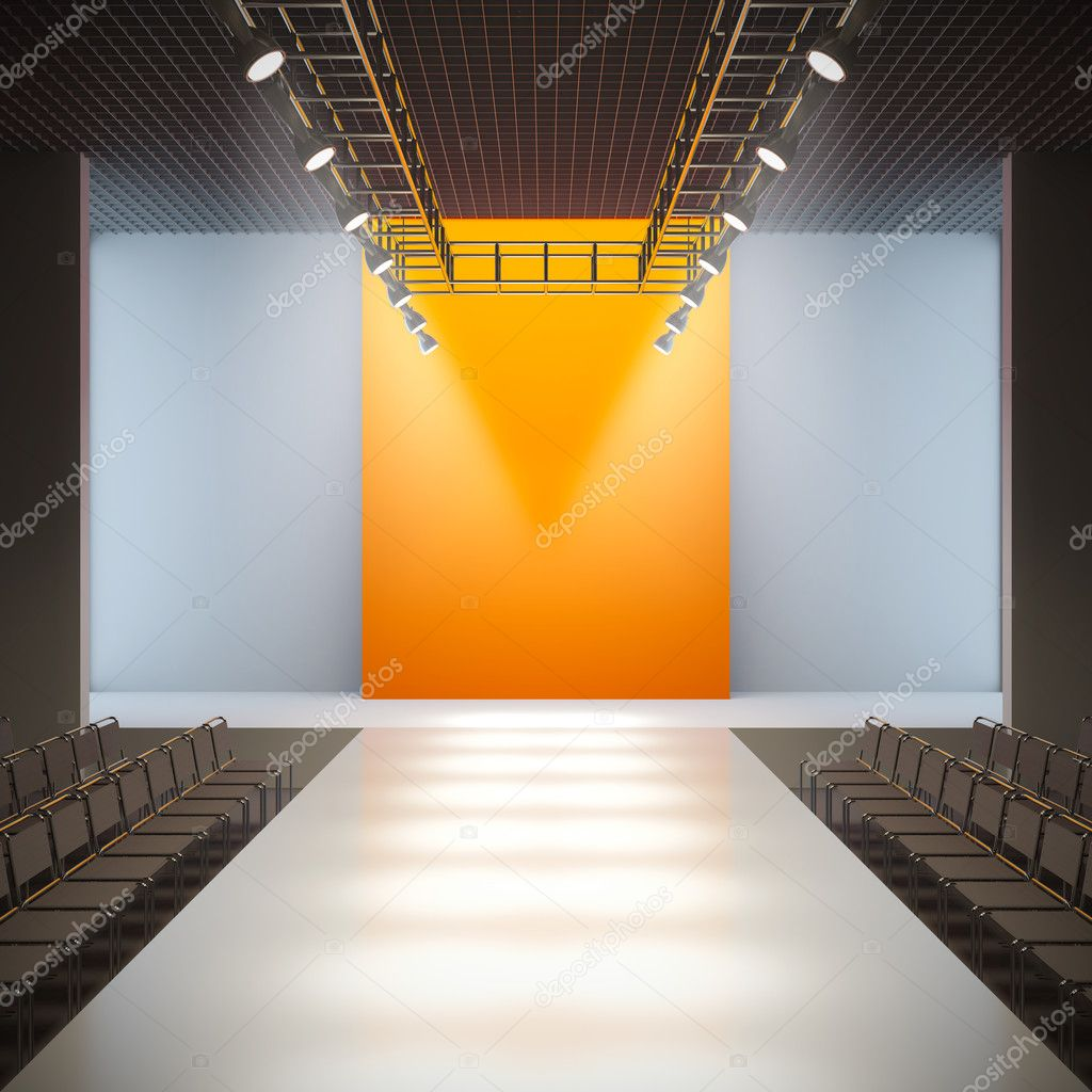 Fashion Empty Runway Stock Photo 169 Nav 7935763
