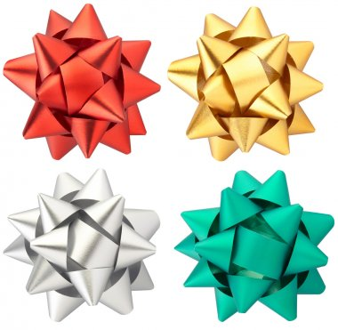 Bow collection isolated
