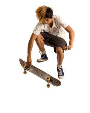 Skateboarder stock vector