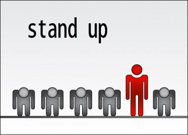 Stand up dare to be different