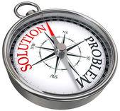 řešení problému koncept kompas