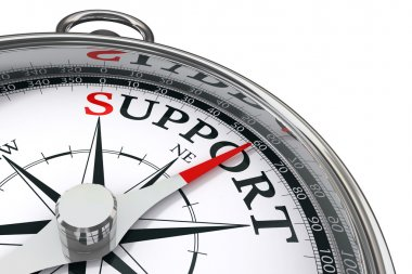 Support concept compass