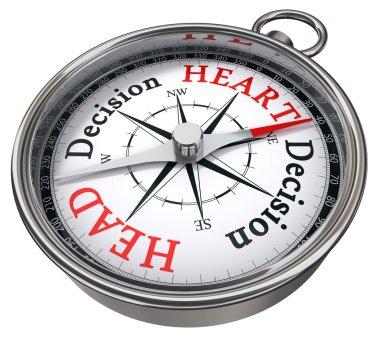 Heart vs head decision dilemma