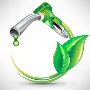 Green energy fuel concept; gas pump nozzle