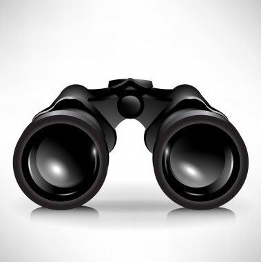Single binoculars