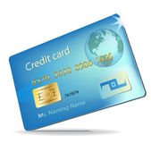 Fényképek Illusztráció egy hitelkártya