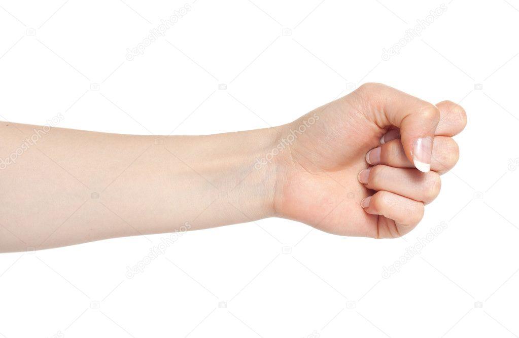 Картинки женский кулак