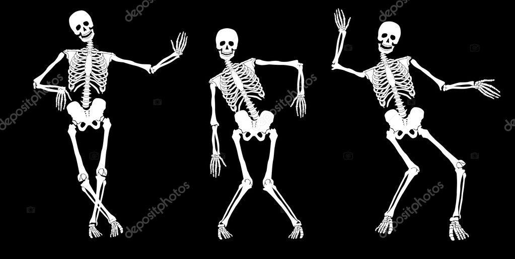 Drunk skeletons