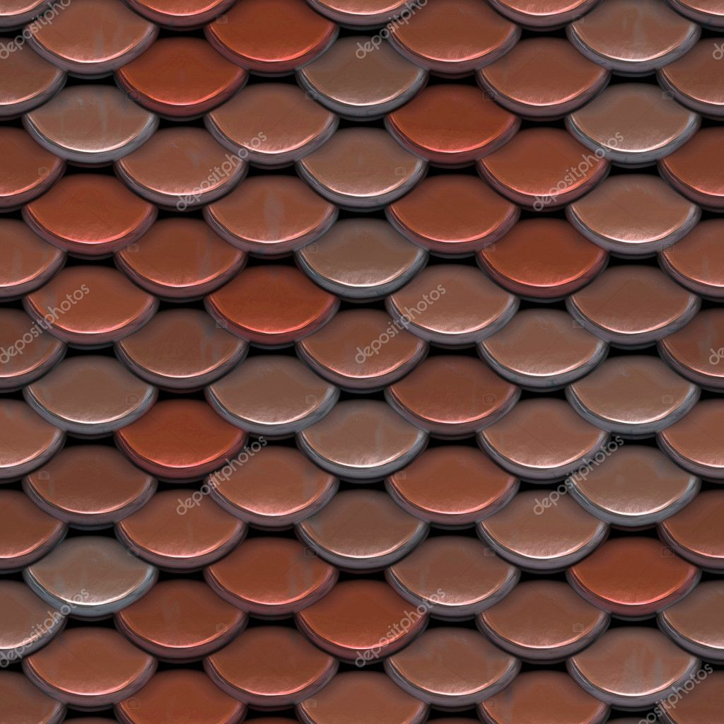 A Texture That Looks Like Roofing Tiles Or Even The Scales On A Fish Or  Reptile. This Image Tiles Seamlessly As A Pattern. U2014 Photo By ArenaCreative