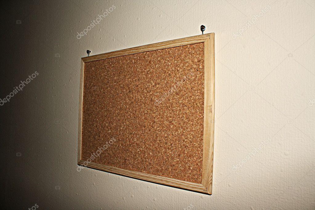 kork-board an der wand — Stockfoto © belchonock #6783338