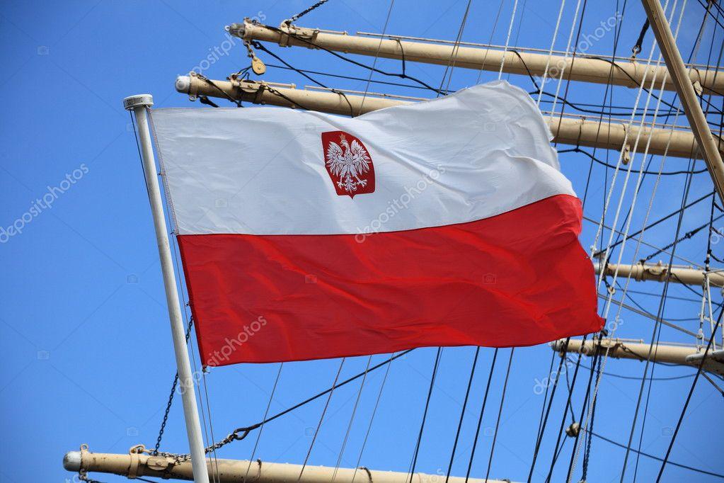 Flag of Poland — Stock Photo © Anetlanda #7120083