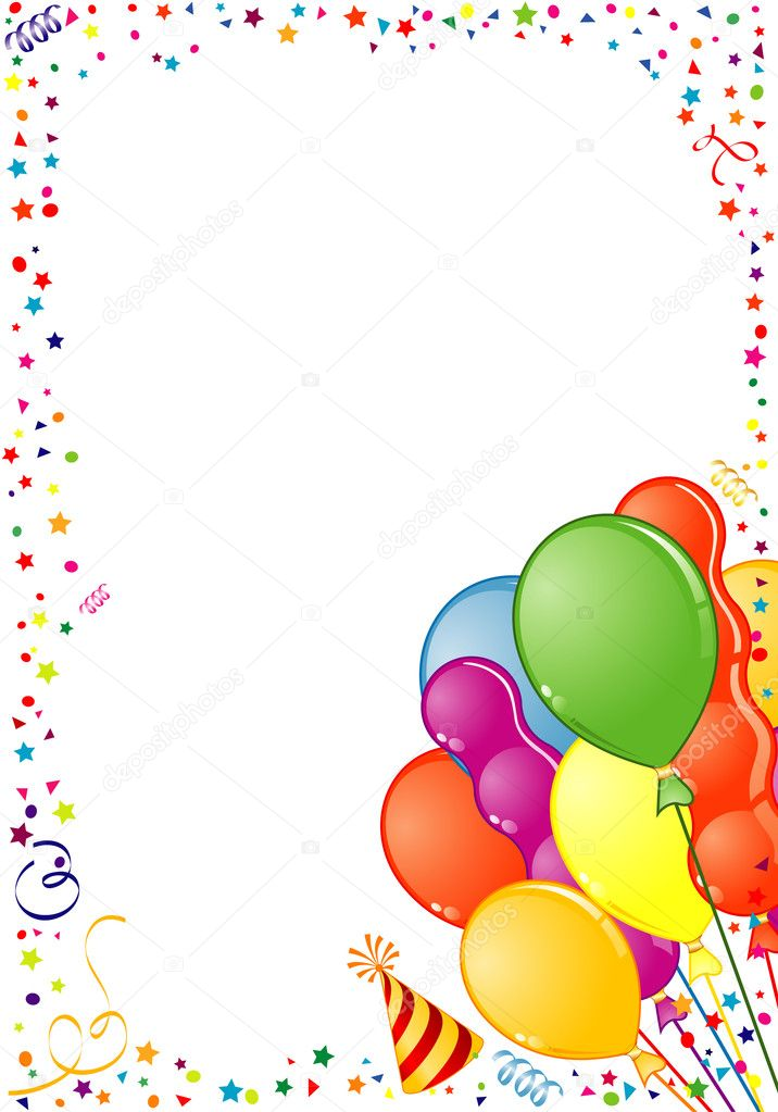 Cadre Anniversaire cadre anniversaire — image vectorielle talexey © #7077428