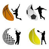 Fotografie Sportball-Logos