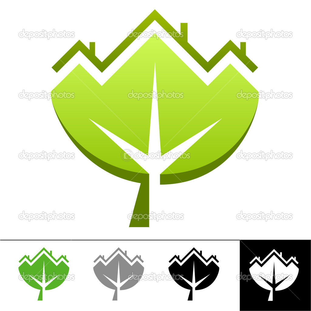 Ecology logo different colors