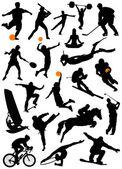 Fotografie Sammlung von sport