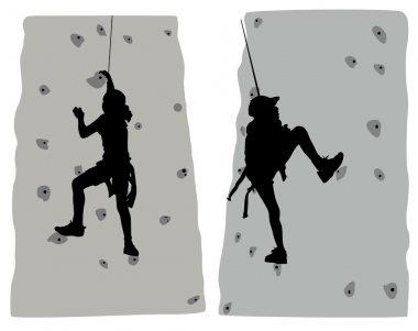 Climber set