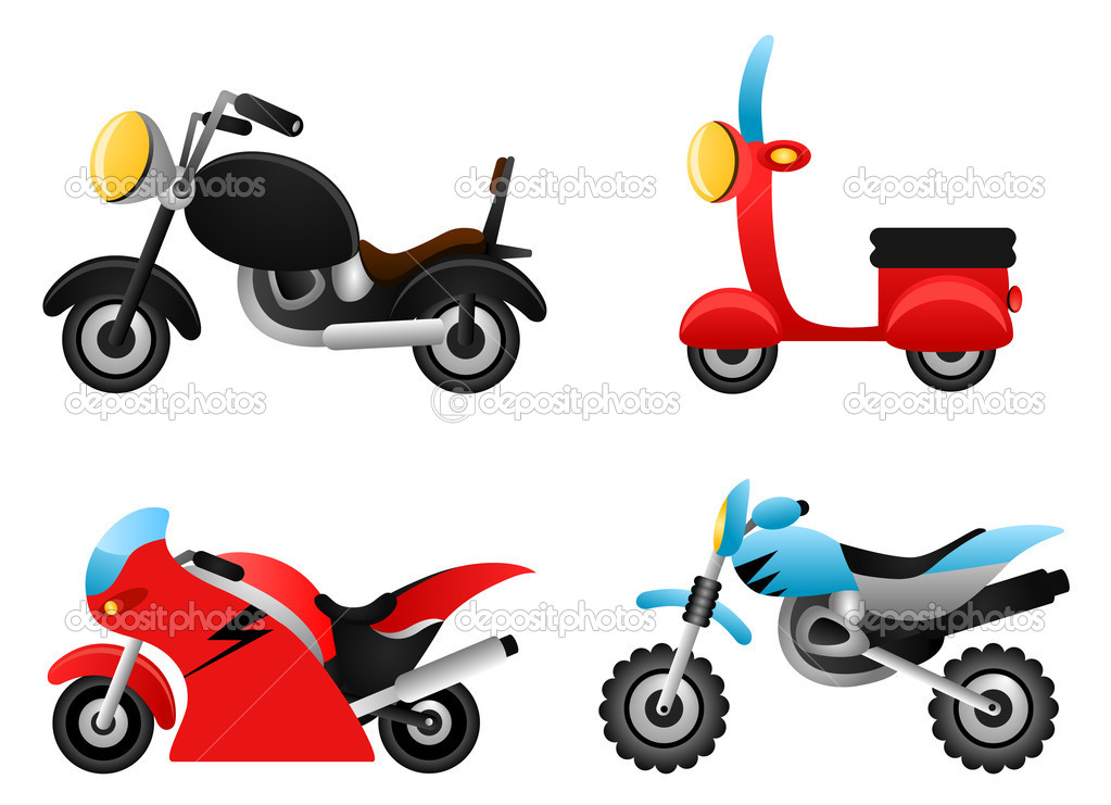Motorcycle illustrations