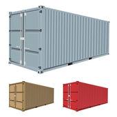 Fotografie Fracht-Container-Vektor