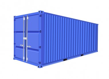 Freight container design stock vector