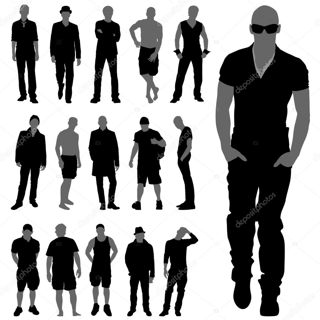 Fashion Man Silhouettes Stock Vector C Bogalo 7615459 Download 210,000+ royalty free man silhouette vector images. fashion man silhouettes stock vector c bogalo 7615459
