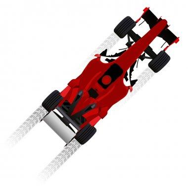 Formula racing car