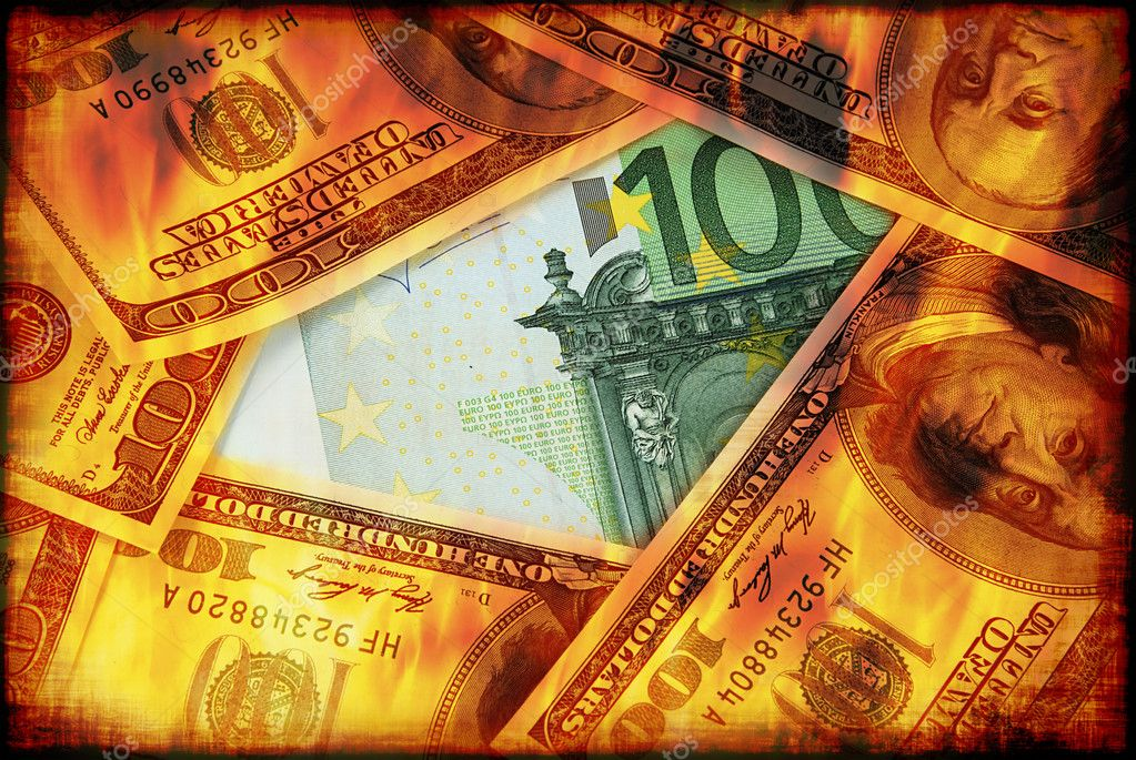 Dollars Are Burning Stock Photo C Fyletto 6807457